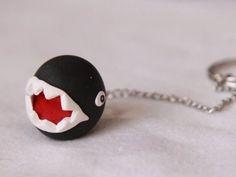 IHasCupquake: How to make a Chain Chomp Keychain - DIY Geeky Goodies