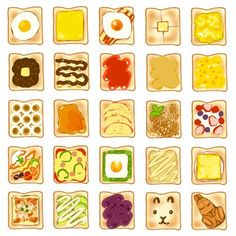 (1) Twitter Food Truck Festival, Cute Food Art, Cute Food Drawings, Buch Design, Food Tags, Fake Food, Aesthetic Food, Food Illustrations, Food And Drink