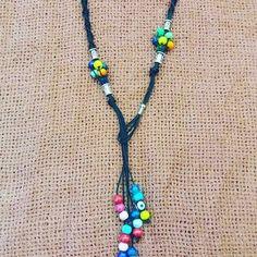 """9 """"Μου αρέσει!"""", 0 σχόλια - poppys art (@poppys_art_handmade) στο Instagram: """"#popart #bohochic #neklace #bohostyle. #boho. #macrame #accessories"""" Tassel Necklace, Poppies, Boho Fashion, Boho Chic, Pop Art, Instagram, Handmade, Accessories, Jewelry"""