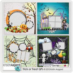 Trick or Treat Quick Pages