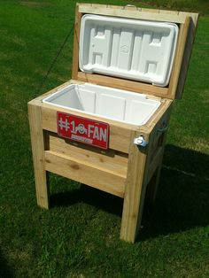Outdoor Wooden Cooler | Do It Yourself Home Projects from Ana White