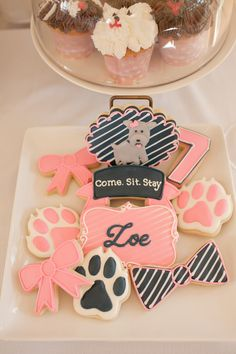 Pawty cookies. A Puppy Pawty » Hello Love Designs