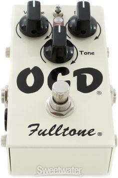 Fulltone OCD Obsessive Compulsive Drive Pedal | Sweetwater.com