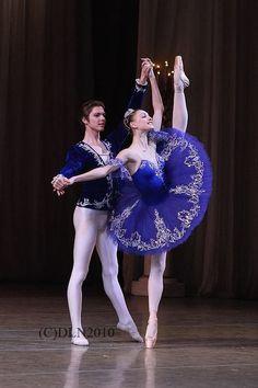 Viktor Lebedev and Olga Smirnova