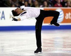 Chafik Besseghier, Men's free at Skate America 2014, Men's Figure Skating / Ice Skating outfit inspiration for Sk8 Gr8 Designs.