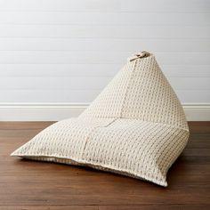 Seven Seas Home -Bonita Bean Bag - Mustard Jacquard Fabric, Jacquard Weave, Bean Bag Covers, Floor Pouf, Reading Room, Mustard, Furniture Design, Neutral, Things To Come