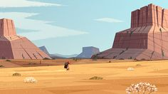 Prairie by Benjamin Flouw, via Behance