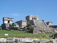 Tulum, zona arqueológica de Cancún. Busca más lugares en http://www.1001consejos.com/guia-de-viajes-que-hacer-en-cancun