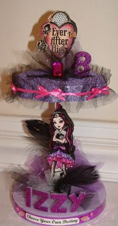 EVER AFTER High RAVEN Queen Table Top / Cake by CandyFlorist, $19.95