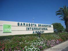 entrance to airport
