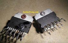 Two ICs Burnt In USB Mini Amplifier