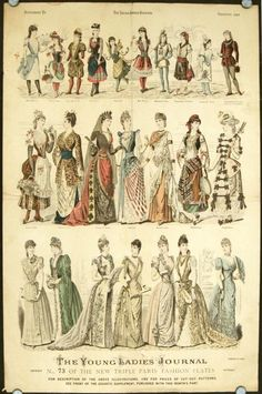 The Young Ladies' Journal, Carnival and Christmas 1889