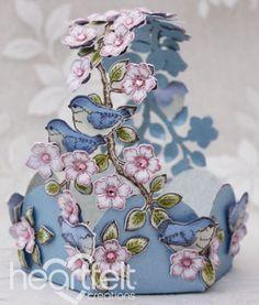 Heartfelt Creations | Birds And Blooms Basket