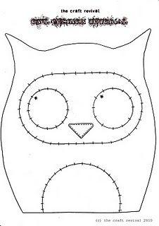 owl cushion.....
