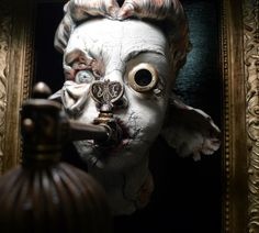 Macabre and Beautifully Grotesque sculptures and installations seen here on 1486: The Hauntingly Exquisite Works of Sarah Louise Davey