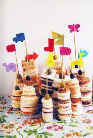 Resultado de imagen para tortas infantiles con golosinas sencillas