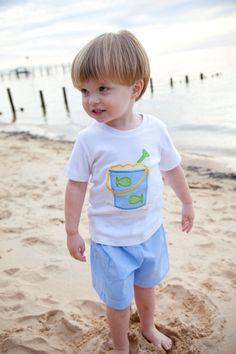 Sand Pail Boy Tshirt And Short Set 1