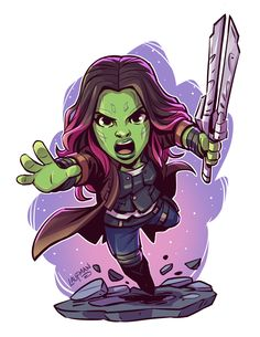 32 Best Chibi Art images in 2020 Marvel Comics, Chibi Marvel, Marvel Heroes, Marvel Avengers, Gamora Marvel, Marvel Tattoos, Cartoon Cartoon, Marvel Drawings, Cartoon Drawings