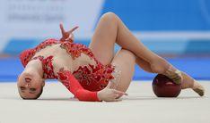 Alina Maksimenko, Ukraine; retired in 2013; Universiade, Kazan 2013 #rhythmic_gymnastics