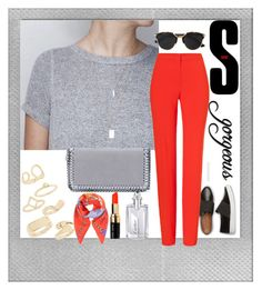 """Show me the rest.."" by furryhugs ❤ liked on Polyvore featuring moda, Polaroid, ESCADA, STELLA McCARTNEY, Topshop, Christian Dior, Bobbi Brown Cosmetics, Cartier y Sandro"