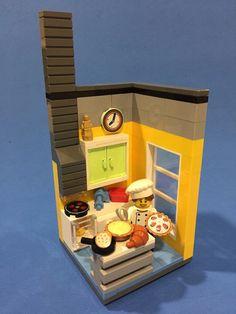 Cute kitchen interior