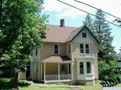 A victorian home in the village of Catskill, NY for only $94,500 (Five Figure Friday: Upstater Blog 8/9/2013)