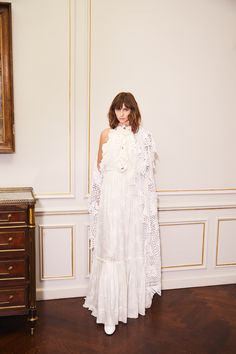 nevenka is a sustainable luxury eastern european fashion house specialising in ready to wear and custom made garments. Mint Dress, White Dress, Mid Century Modern Decor, Fade Color, Silk Wool, White Silk, Wool Dress, Lace Back, European Fashion