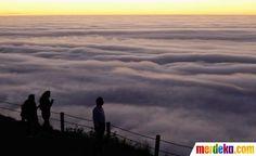 Kota Cape Town terkenal akan keindahan alamnya, terutama Table Mountain yang menjadi background kota ini.