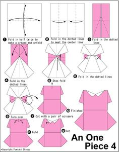 """Ideas para el hogar: Manualidades """"Vestidos de papel"""" para diseño de postales"""