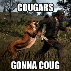 mother fucking cougars. Every time.