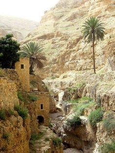 WADI [ Valley ] QELT , HEBRON , PALESTINE .