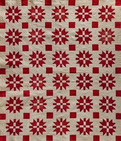 Red and white: Infinite Variety.  Folk Art Museum.