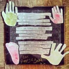 Creative Playhouse: Father's Day Poem Art