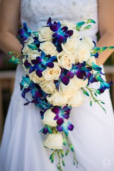 A bridal bouquet with a little bit of topical flavor thrown in!