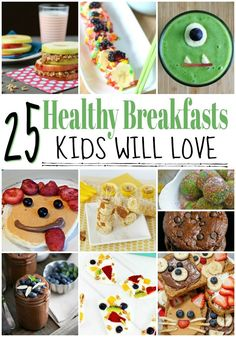 25 Delicious And Healthy Homemade Breakfast Ideas Breakfast Sushi, Healthy Breakfast For Kids, Homemade Breakfast, Healthy Breakfast Smoothies, Yummy Smoothies, Best Breakfast, Healthy Kids, Breakfast Muffins, Breakfast Ideas