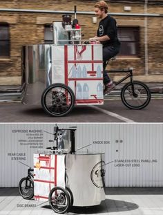 8 Coolest Businesses on a Bike