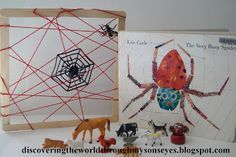 Discovering The World Through My Son's Eyes: Story Time & Crafts: The Very Busy Spider Eric Carle, Literacy Activities, Toddler Activities, Literacy Display, The Very Busy Spider, Letter Of The Week, Best Children Books, Story Time, Story Story