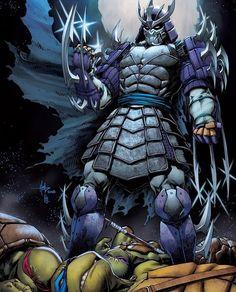 Leavin' all the Toitles for dead? Tubular art by ! Ninja Turtles Art, Teenage Mutant Ninja Turtles, King Kong, Godzilla, Ninja Turtle Drawing, Transformers, Shredder Tmnt, Turtles Forever, Favorite Cartoon Character