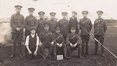 Men of the Transport Section 7th Bttn Northumberland Fusiliers