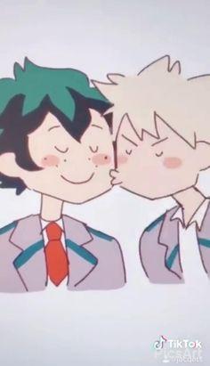 A cute bakudeku Boku No Hero Academia Funny, My Hero Academia Shouto, My Hero Academia Episodes, Hero Academia Characters, Anime Films, Anime Characters, Animes Wallpapers, Cute Wallpapers, Cute Anime Guys