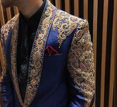 Sherwani Groom, Mens Sherwani, Wedding Sherwani, Indian Men Fashion, Mens Fashion Suits, Mens Suits, Fashion Menswear, Indian Groom Wear, Indian Wear