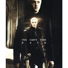 Draco Malfoy Can't turn back All Things Harry Potter ❤ liked on Polyvore featuring harry potter, draco malfoy, fandoms and draco