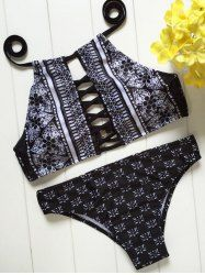 SHARE & Get it FREE | Printed Criss Cross High Neck BikiniFor Fashion Lovers only:80,000+ Items • New Arrivals Daily • Affordable Casual to Chic for Every Occasion Join Sammydress: Get YOUR $50 NOW!