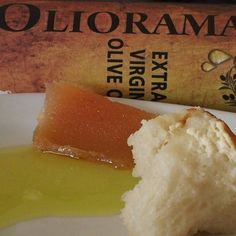 Αγνό εξτρα παρθένο ελαιόλαδο @oliorama_gr από την Αρχαία Ολυμπία. Με ψωμί και κυδωνόπαστο σπιτικά. Δάκρυα χαράς και ευγνωμοσύνης για τη ζωή <3 Menu, Ice Cream, Bread, Desserts, Food, Menu Board Design, No Churn Ice Cream, Tailgate Desserts, Deserts