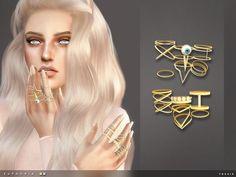 sims 4 cc custom content fantasy costume rings