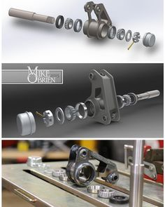 Quick exploded view from design to fabrication on the Datsun 620 bellcranks. Cantilever Suspension, Suspension Design, Lotus 7, Racing Car Design, Reverse Trike, Cargo Bike, Import Cars, Mini Trucks, Kit Cars