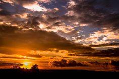 Puesta Del Sol, Sun, Cielo, Nubes
