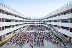 Tiantai No.2 Primary School,© Su shengliang