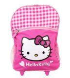 Reviews Sanrio Hello Kitty Large Pink Rolling Backpack The best prices online - http://wholesaleoutlettoys.com/reviews-sanrio-hello-kitty-large-pink-rolling-backpack-the-best-prices-online