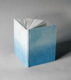 Indigo Blue Ombre Journal by bookbinder, Natalie A. Stopka